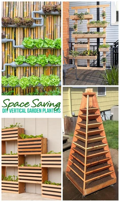 Vertical Garden Project by The Best Diy Vertical Gardens For Small Spaces