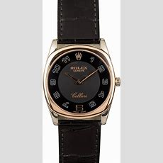 Rolex Cellini Danaos Rose Gold 4233 Watch