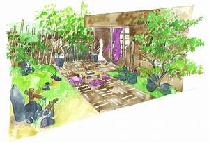 Amenager Un Petit Jardin Sans Pelouse : conseils de paysagiste un jardin zen ~ Melissatoandfro.com Idées de Décoration
