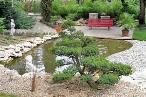 Plantes Vivaces Autour D Un Bassin : jardin japonais autour d 39 un bassin ~ Melissatoandfro.com Idées de Décoration