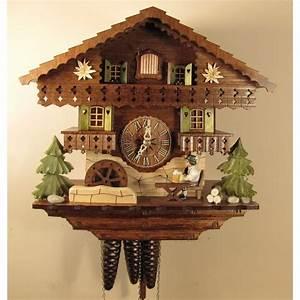 Cuckoo, Clock, One, Day, Musical, Movement, Bavarian, Beer, Drinker, 1391