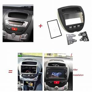 2 Din Radio Fascia For Toyota Aygo Citroen C1 Peugeot 107