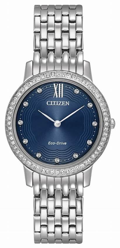 Silhouette Crystal Watches Ladies Citizen Diamond 58l