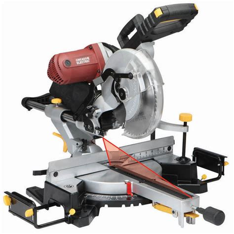 12 In Doublebevel Sliding Compound Miter Saw With Laser