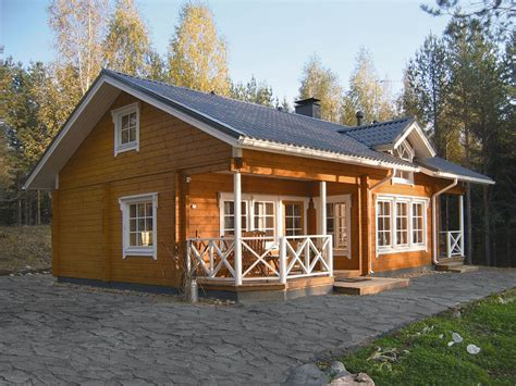 finlande maison bois massif