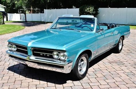 1964 Pontiac Gto Tribute Convertible Sweet Four Speed Must