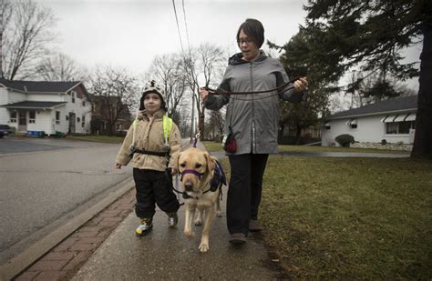 walks dog autism atlas tethered service boy patience anderson he star him which harris running away changed canada thestar