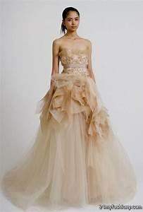 blush wedding dresses vera wang 2016 2017 b2b fashion With vera wang wedding dresses 2017