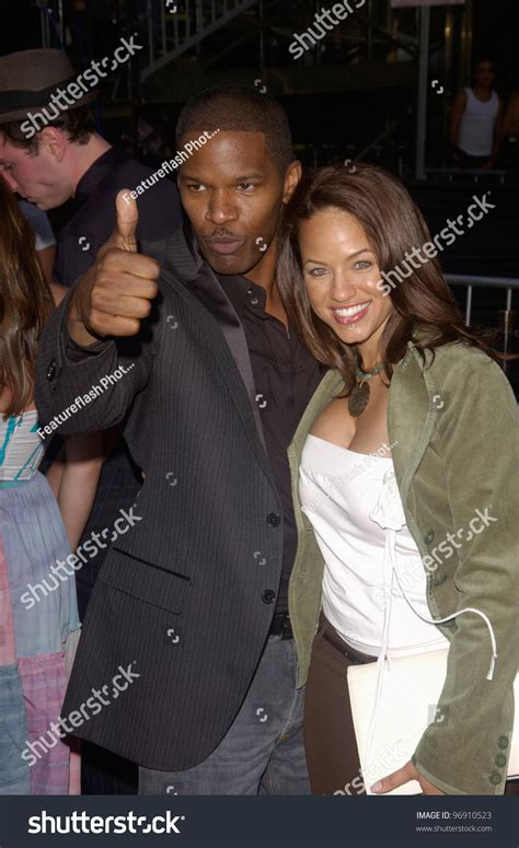 actor jamie foxx wife   world premiere  los