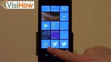 change or update whatsapp status on microsoft lumia 535 visihow