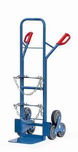 Transport über Treppen : stahlflaschenkarre 200 kg stahlflaschen treppenkarre ~ Michelbontemps.com Haus und Dekorationen