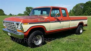 1978 F150 4x4 Super Cab Custom Trim Orange Tan