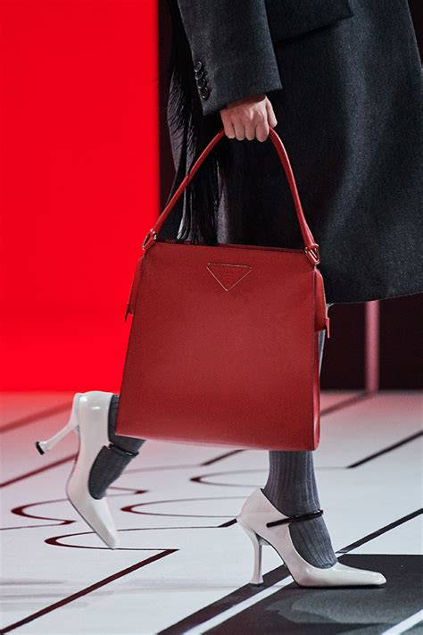 prada fall runway bag collection bragmybag
