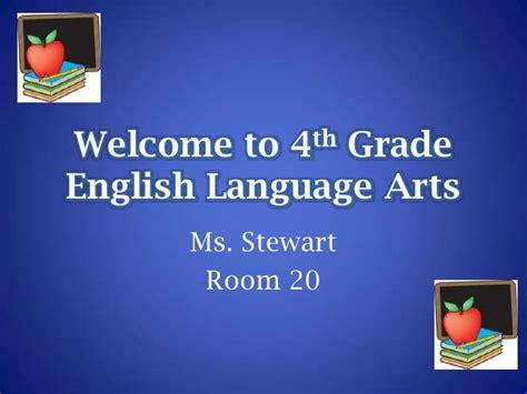 grade english language arts