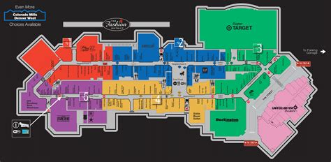 25+ Map Of Colorado Mills Mall Stores Pics - FreePix