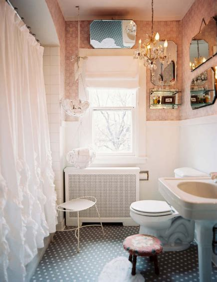 Pretty Bathroom Showers by And Out Chic Interiors Pretty Girly Bathrooms