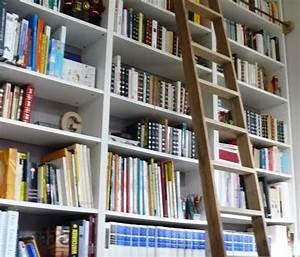 Echelle Etagere Ikea : une chelle de biblioth que billy ~ Teatrodelosmanantiales.com Idées de Décoration