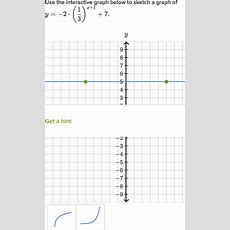 Graphing An Exponential Function  World Of Example