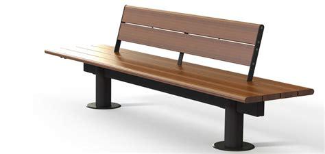 in the panchina panchine in legno e metallo valencia metalco