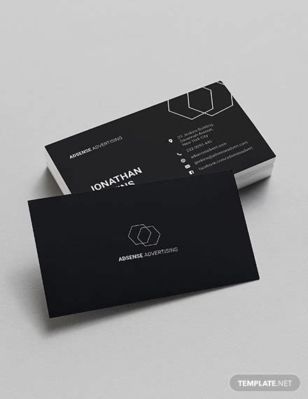 business card template pages 15 minimalist business card templates apple pages psd