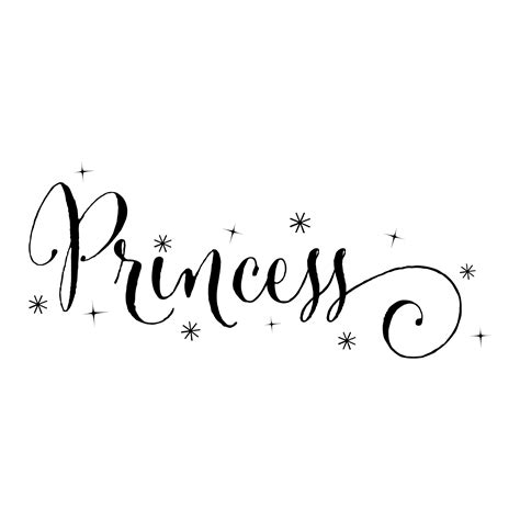 wrought iron princess sparkles wall quotes decal wallquotes com