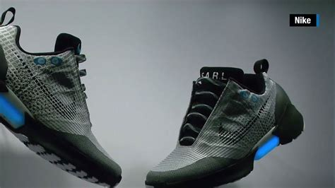Hey Mcfly! Nike Unveils Auto-lacing Sneaker