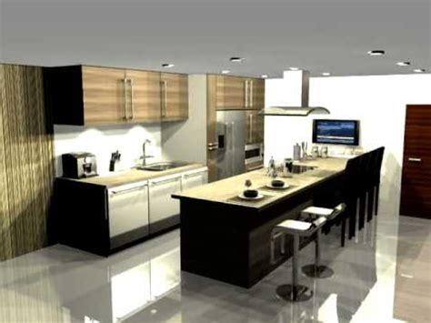 3d Max A Very Nice Kitchen  Youtube