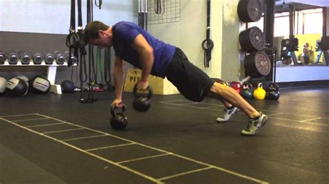 kettlebell renegade rows ripped