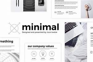 Free minimal powerpoint template create your ppt easy for Free minimalist powerpoint templates