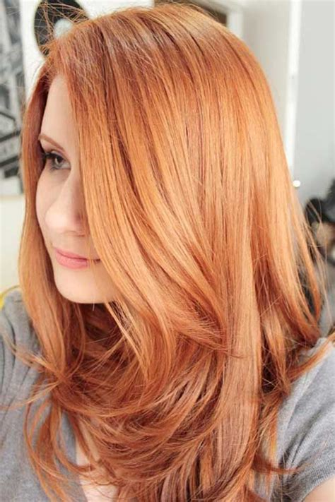 ideas  copper blonde hair  pinterest