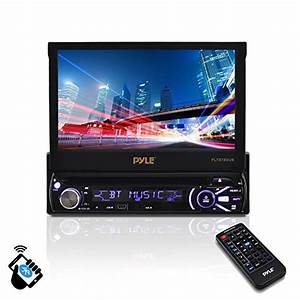 Pyle Plts78dub 7 Lcd Monitor With Dvd  Cd  Mp3