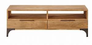 meuble tv campagne chic affordable meuble tl les nouveaux With maison du monde meuble cuisine 6 buffet bois exotique discount buffet bois exotique pas