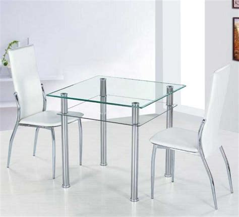glass desk metal legs small glass dining table with metal table legs ideas