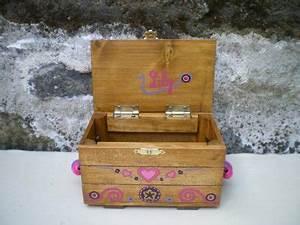Coffre à Bijoux Bois : jouet bois coffre bijoux personnalis sur commande 5 ~ Premium-room.com Idées de Décoration
