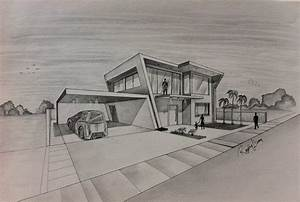 Simple Architecture House Design Sketch | Mapo House and ...