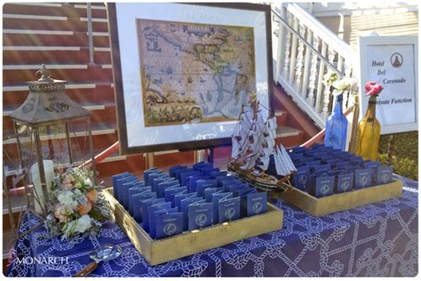 Whimsical Nautical Themed Hotel Del Coronado Wedding #2