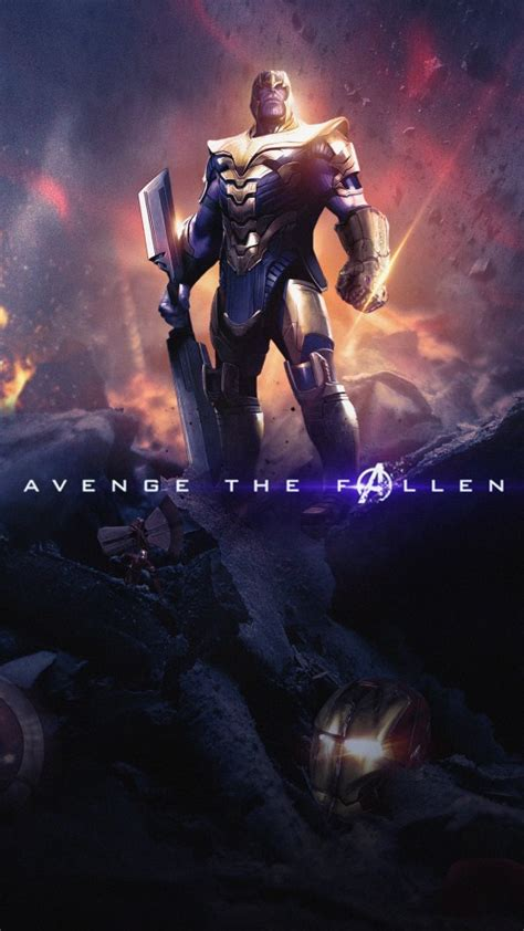 Endgame Wallpaper 4k Iphone X by Thanos In Endgame 4k Wallpapers Hd Wallpapers