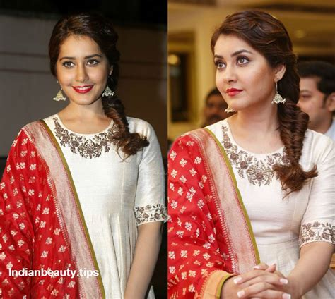 hairstyles to team with anarkali suits hairstyles for