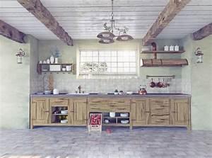 Cuisine Style Industriel Bois : relooker sa cuisine d co cuisine de style industriel ~ Teatrodelosmanantiales.com Idées de Décoration