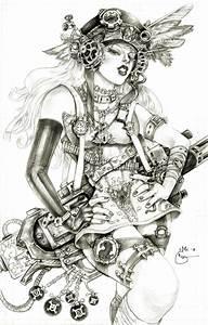 Steampunk Lady Blackhawk Zinda Blake by DubuGomdori on ...