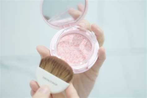 Harga The Shop Base Highlighter Beam the shop marble beam blusher review tried tested