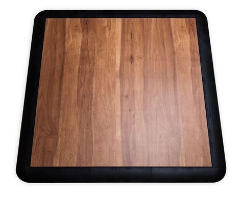 3 x 3 dance floor kit in dark maple for dance practice
