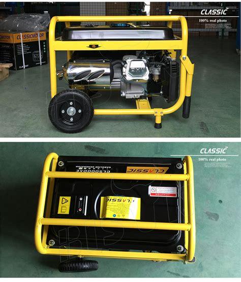 Home Portable Alternator Generator 5kw 220v,5kv Gasoline