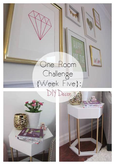 One Room Challenge {week Five} Diy Decor  Love Create