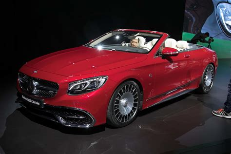 Rare 2017 Mercedes-maybach S650 Cabriolet Debuts In L.a