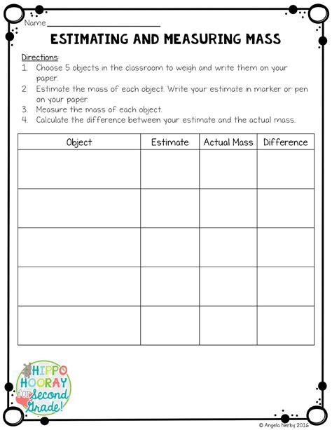 worksheet mass and weight worksheet grass fedjp