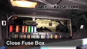 Interior Fuse Box Location  2004-2010 Bmw 525i