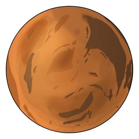Mars Clipart Planet Mars Clipart