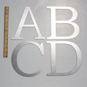 classic 8 capital laser cut metal letters With cut metal letters