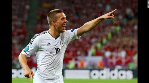 Latest on antalyaspor forward lukas podolski including news, stats, videos, highlights and more on espn. Lukas Podolski of Germany | Lukas podolski, Euro, Mens tops
